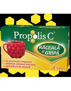 Propolis C Raceala şi Gripa x 15 plicuri + Cana CADOU