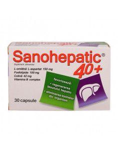 Sanohepatic, 30 capsule, Zdrovit