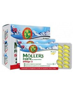 Mollers Cod Liver Oil Forte, 150 capsule