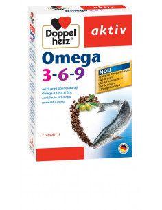 Doppelherz Aktiv Omega 3-6-9, 30 capsule