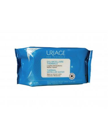 URIAGE Servetele demachiante pentru piele normal-uscata, 25 bucati