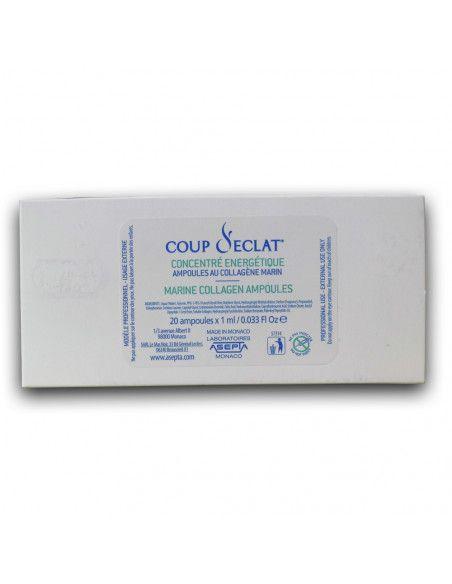 Coup d'Eclat Fiole cu colagen marin concentrat, 20 fiole x 1ml