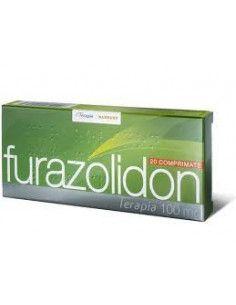 Furazolidon 100mg x 20 comprimate