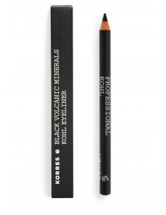 Creion profesional de ochi Kohl negru, 1,14g, Korres