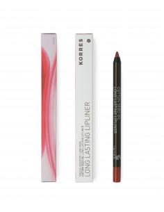 Creion de buze cu grad mare de remanență cu ulei de semințe de bumbac nuanță 03 Red, 1.2g, Korres