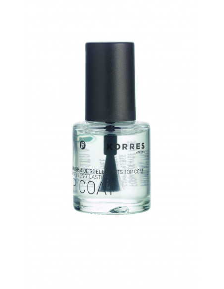 Nail colour lac pentru unghii Top Coat, 10ml, Korres