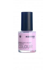 Lac pentru unghii cu Provitamina B5 si oligoelemente nuanta 05 Baby Pink, 10ml, Korres