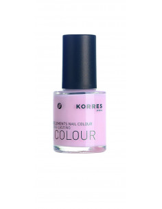 Lac pentru unghii cu Provitamina B5 si oligoelemente nuanta 04 peony pink, 10ml, Korres