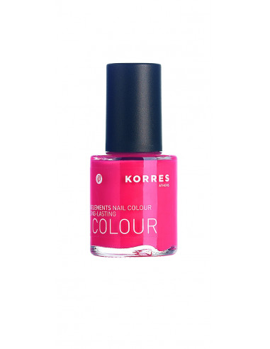Lac pentru unghii cu Provitamina B5 si oligoelemente nuanta 43 coral pink, 10ml, Korres