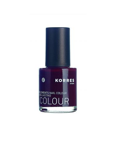 Lac pentru unghii cu Provitamina B5 si oligoelemente nuanta 59 dark red, 10ml, Korres