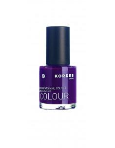 Lac pentru unghii cu Provitamina B5 si oligoelemente nuanta 27 purple, 10ml, Korres