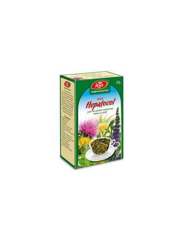 Ceai Hepatocol, 50g, punga, Fares