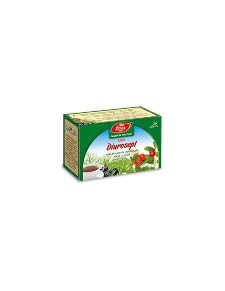 Ceai Diurosept, 20 plicuri, Fares