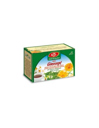 Ceai Ginosept, 20 plicuri, Fares