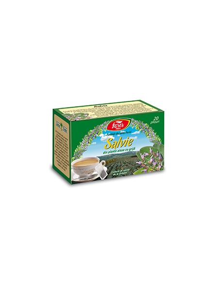 Ceai salvie, 20 plicuri, Fares