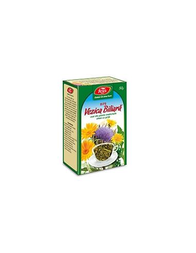 Ceai vezica biliara D75, 50g punga, Fares