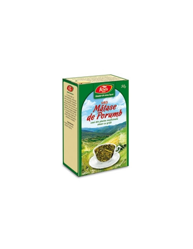 Ceai matase porumb, 50g punga, Fares