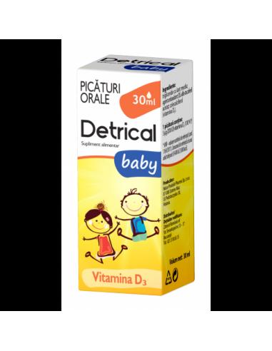 Zdrovit Detrical Baby Picaturi Orale 30 ml