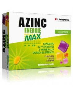 ARKO AZINC Energie Max, 30 comprimate