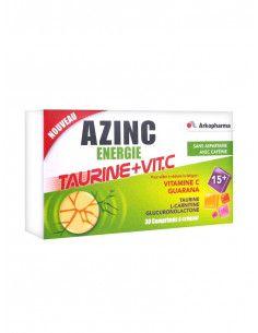 ARKO AZINC Energie Taurine+Vit. C, 30 comprimate masticabile