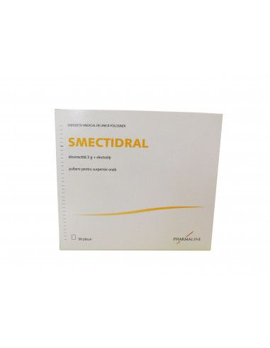 Smectidral, 30 plicuri, Pharmaline