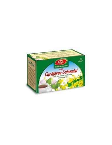 Ceai curatarea colonului, 20 plicuri, Fares