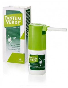 Tantum Verde 0.15% x 30ml spray bucofaringian
