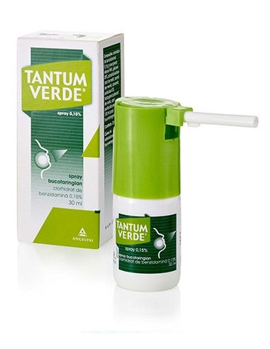 Tantum Verde 15mg/ml x 30ml spray bucofaringian
