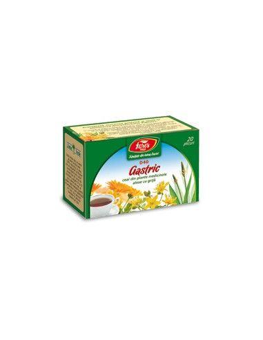 Ceai gastric, 20 plicuri, Fares