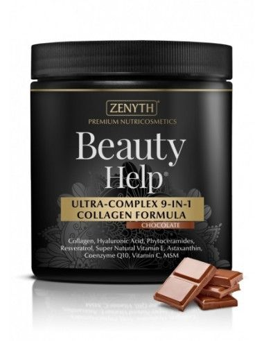 Beauty Help Ultra-complex 9 in 1 collagen Chocolate, 300g