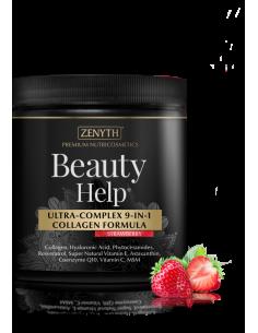Beauty Help Ultra-complex 9 in 1 collagen Capsuni, 300g