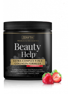 Beauty Help Ultra-complex 9 in 1 collagen Capsuni, 300g