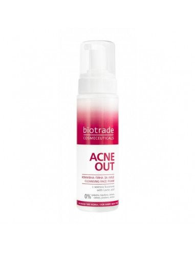 Acne Out Spuma de Curatare, 200 ml