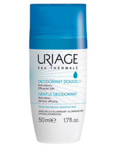 URIAGE Deodorant douceur roll-on 24h fara aluminiu, 50ml