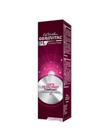 Gerovital H3 Evolution Lapte Demachiant Tonfiant 100ml