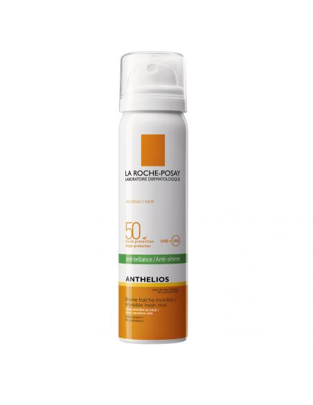 La Roche-Posay Anthelios Spray cu efect matifiant invizibil pentru fata SPF 50, 75ml