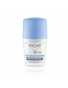 Vichy Roll-on Antiperspirant mineral, fara saruri de aluminiu 48 ore, 50 ml