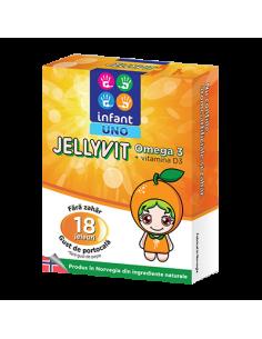 Infant Uno Jellyvit Omega 3, 18 jeleuri
