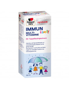 Doppelherz Immun multi-vitamine family, 250ml