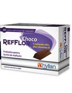 Refflor Choco, 10 tablete de ciocolata