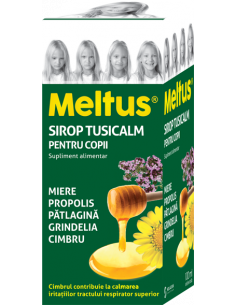 Meltus sirop Tusicalm copii, 100ml