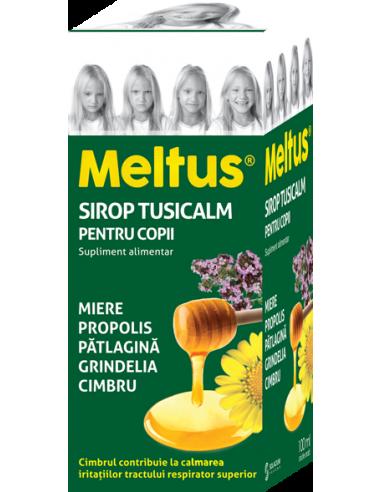 Meltus sirop Tusicalm copii, 100ml
