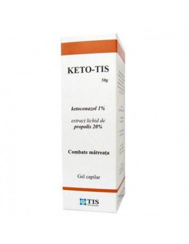 Keto-Tis x 60g gel capilar