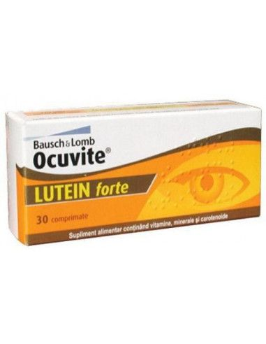 Ocuvite Lutein Forte, 30 capsule, Bausch Lomb