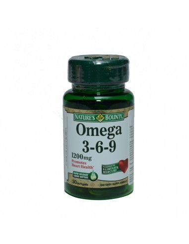 Nature's Bounty Omega 3-6-9 x 30 capsule