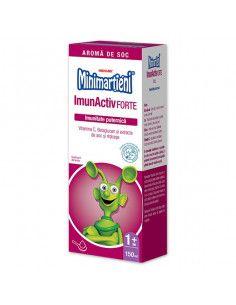 Walmark Minimartieni ImunActiv FORTE sirop cu aroma de soc, 150 ml