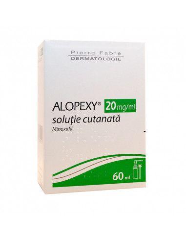 Alopexy 2% 60ml Soluţie Cutanată
