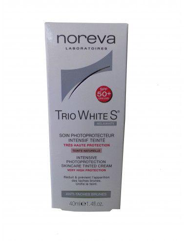 Noreva trio white S crema colorata spf 50+, 40 ml