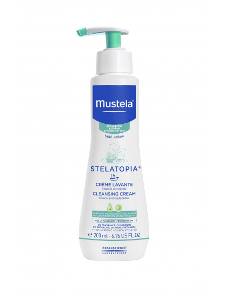 Mustela Stelatopia crema de spalare x 200ml