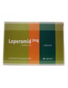 Loperamid 2mg, 10 capsule, Solacium